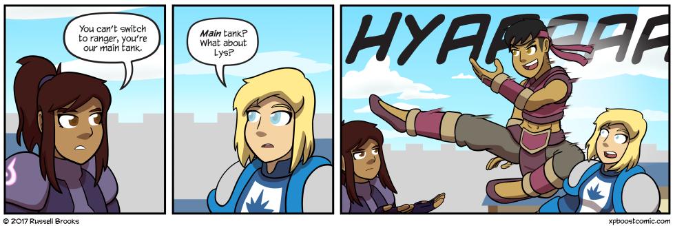 "Hope you guys like this arc ""Everyone Makes Dramatic Entrances"""